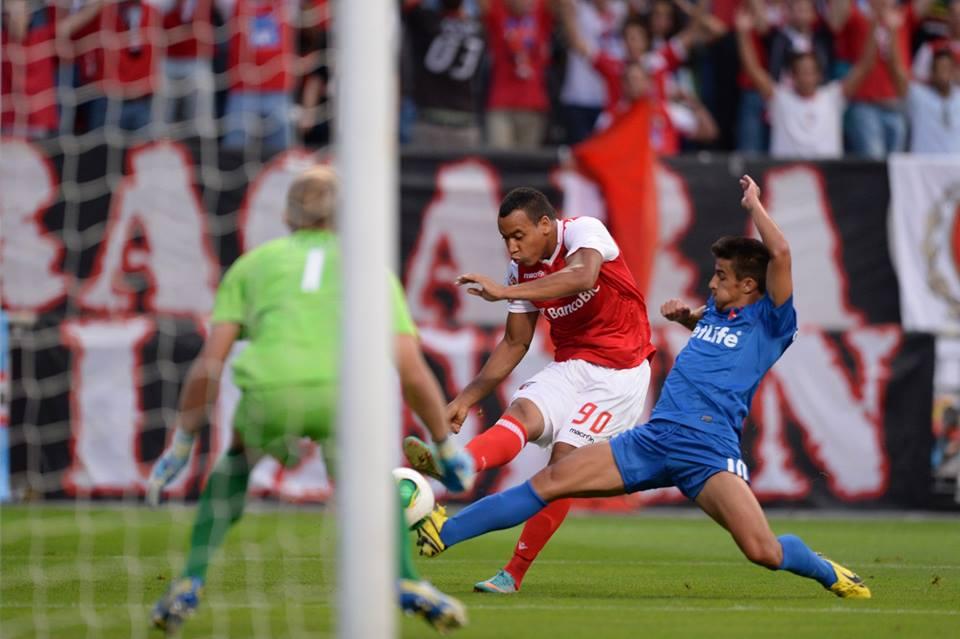 Pardo foi uma das figuras do encontro Fonte: Facebook Sporting de Braga