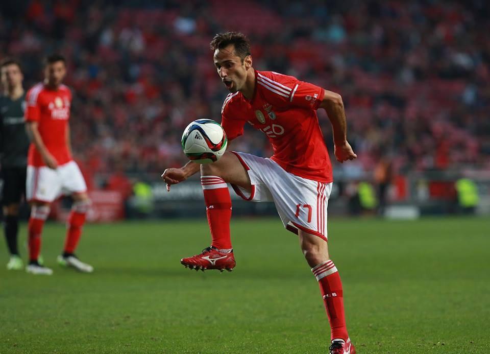 Jonas já leva 12 golos marcados em 15 jogos Fonte: Facebook do Sport Lisboa e Benfica