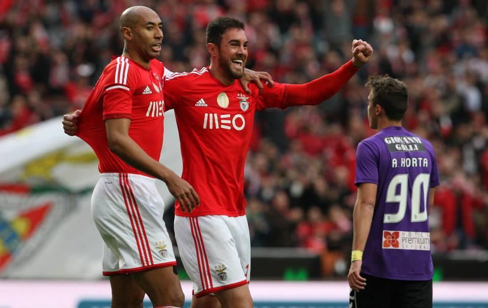 A dupla de centrais mais completa do futebol português Fonte: Sport Lisboa e Benfica