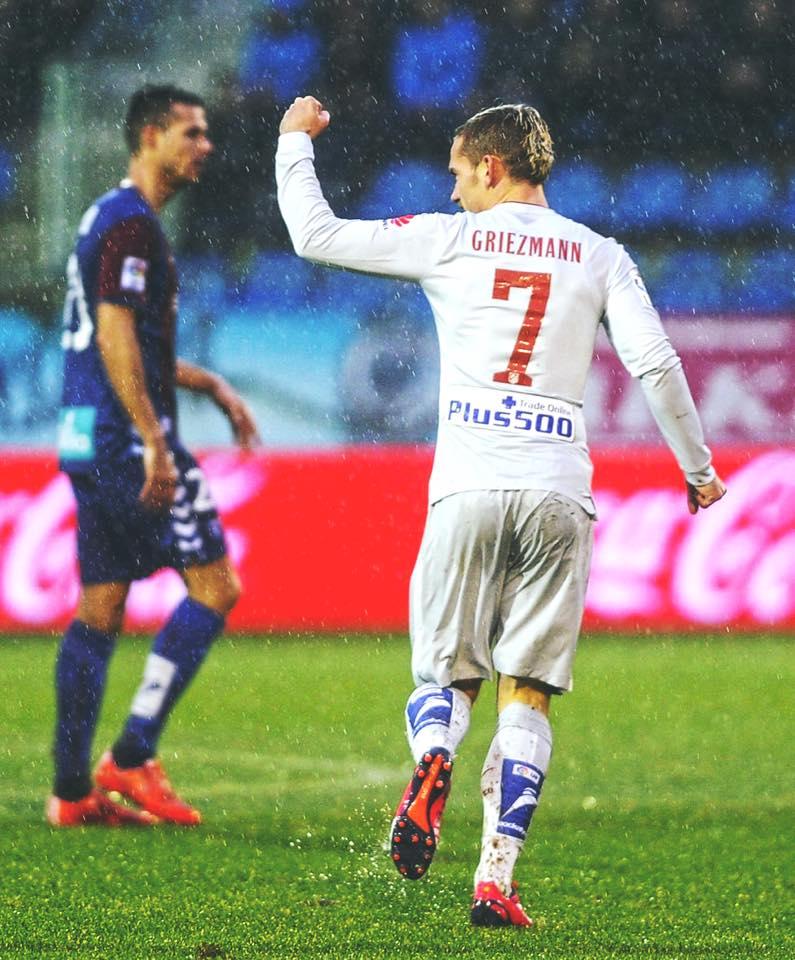 Griezmann é o melhor marcador dos colchoneros na liga, com 14 golos Fonte: Facebook de Antoine Griezmann
