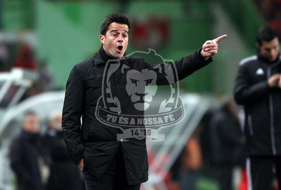 Marco Silva mexeu bem na equipa, mas as substituições não foram suficientes para melhorar o panorama Fonte: Facebook Oficial do Sporting Clube de Portugal