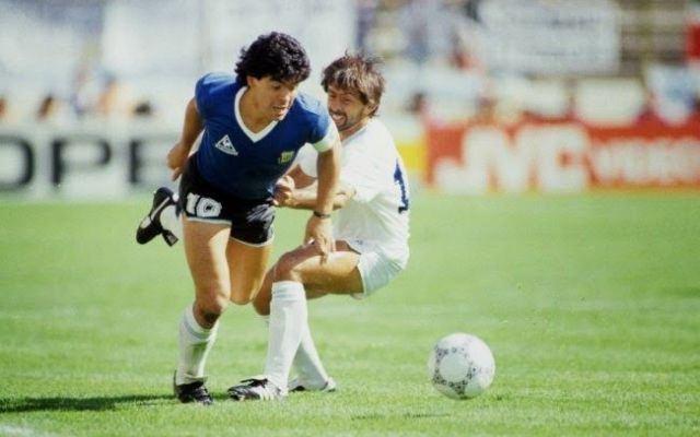 Maradona é um dos melhores de sempre Fonte: Nazionale Calcio