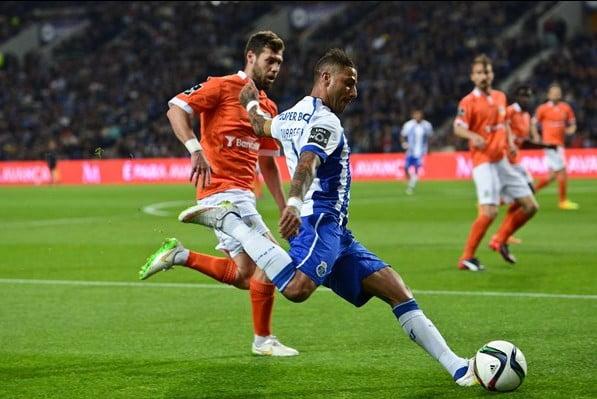 Quaresma fez a assistência para o golo de Aboubakar  Fonte: fcporto.pt