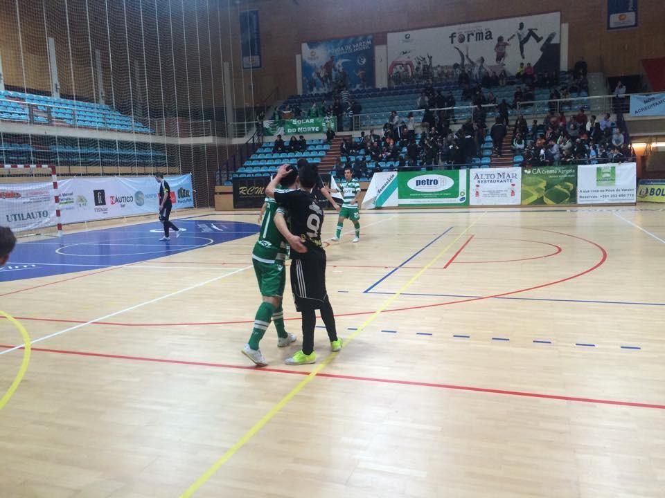 Sporting alcança uma suada vitória no terreno do Póvoa Futsal Fonte: Sporting Clube de Portugal