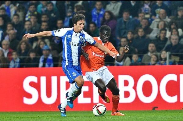 O jogo de hoje marcou o regresso de Óliver à competição  Fonte: fcporto.pt