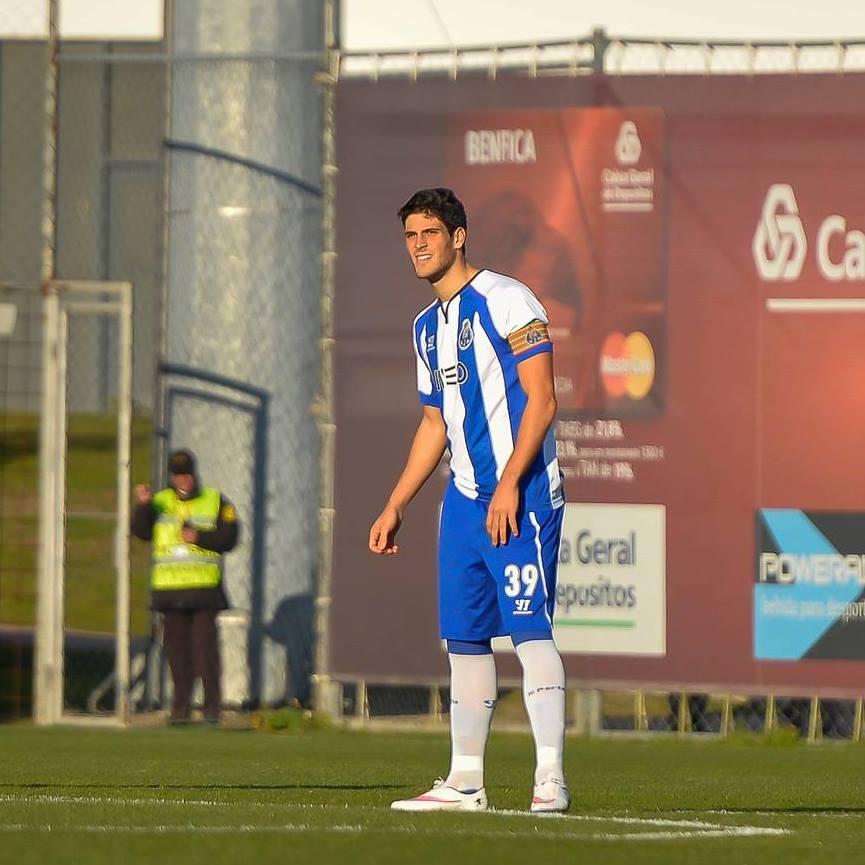Gonçalo Paciência é um dos valores de futuro do FC Porto Fonte: Facebook de Gonçalo Paciência