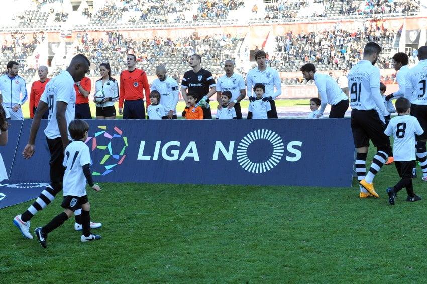 Prevê-se um encontro de grande nível Guimarães Fonte: Vitória Sport Clube