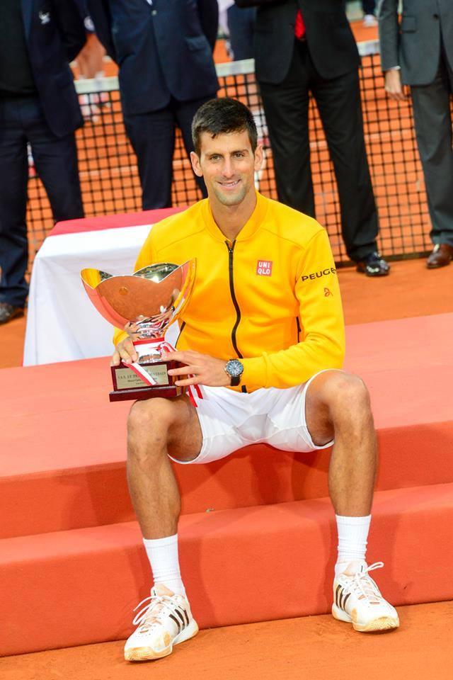 Tem sido uma temporada fantástica para Djokovic