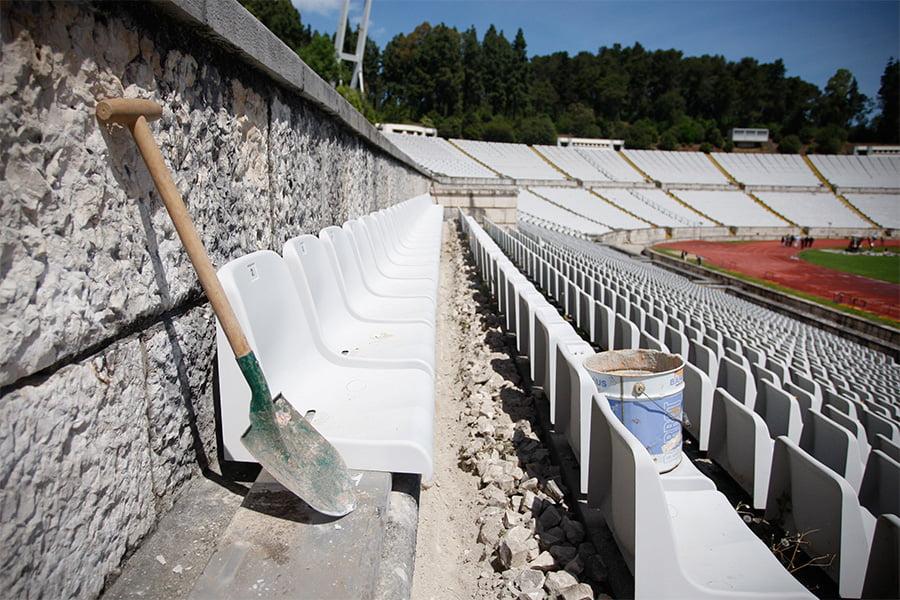 Com a velhice vem a magia dum estádio único em Portugal Fonte: FPF
