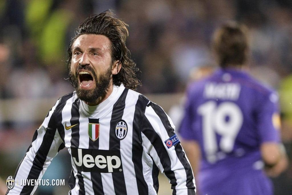 A inteligência é uma das principais características de Andrea Pirlo Foto: Juventus FC