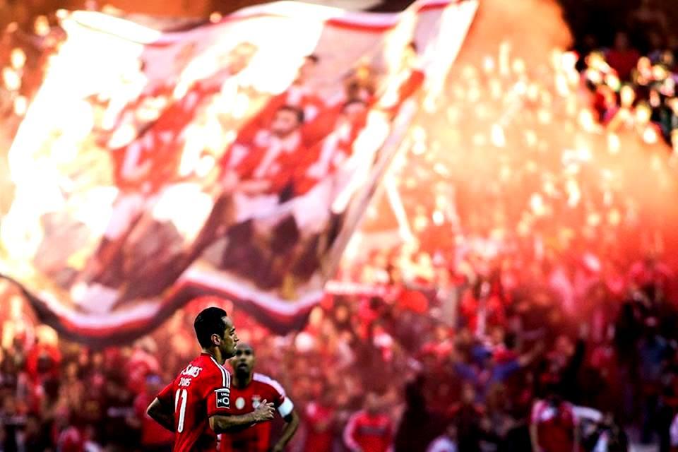 Jonas trouxe o toque de classe que empurrou o Benfica para o 34.º Fonte: Facebook do Sport LIsboa e Benfica