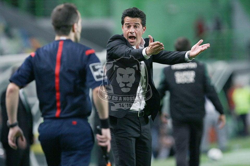 Marco Silva fez algumas promessas do início do campeonato Fonte: Sporting CP
