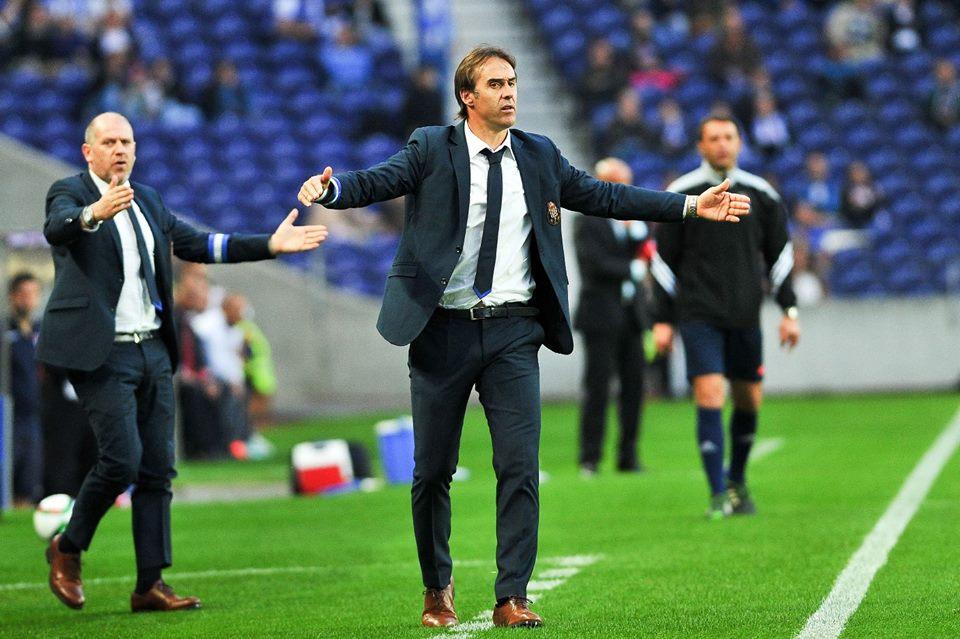 Julen Lopetegui chegou ao FC Porto no início desta temporada Fonte: FC Porto