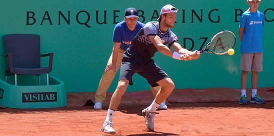 João Sousa (na imagem) está pela 4º vez numa final ATP Fonte: Facebook Oficial João Sousa