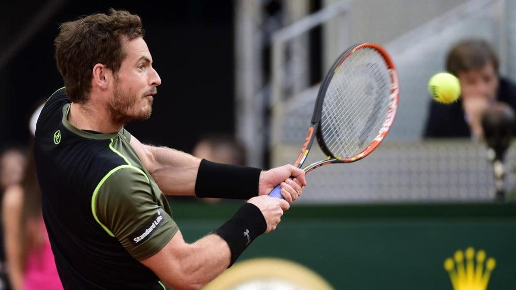 De forma categórica, Andy Murray venceu o seu primeiro Masters 1000 no pó de tijolo Fonte: Facebook do Eurosport