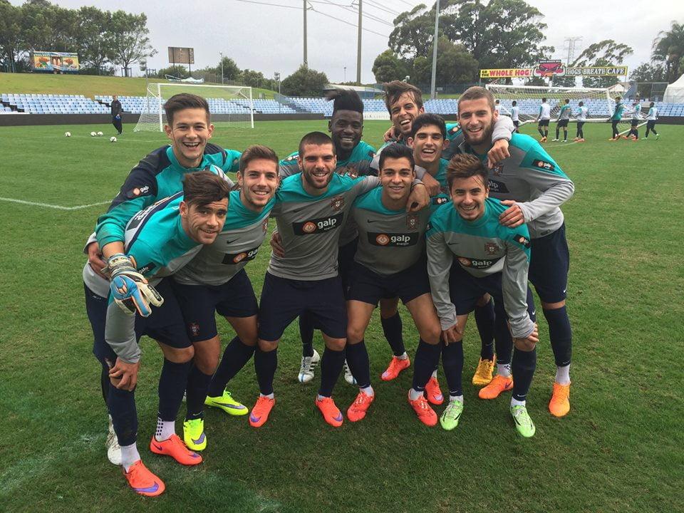 Os jogadores às ordens de Hélio Sousa estão no grupo com Colômbia, Qatar e Senegal Fonte: Seleções de Portugal