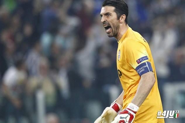 Buffon quer levantar um troféu que nunca conquistou Fonte: Facebook da Juventus