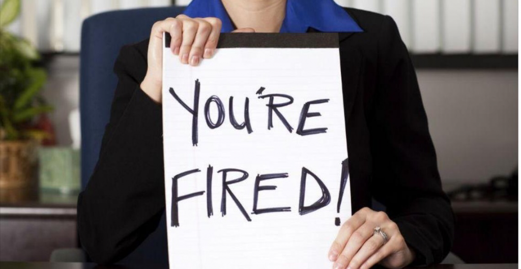 youre fired