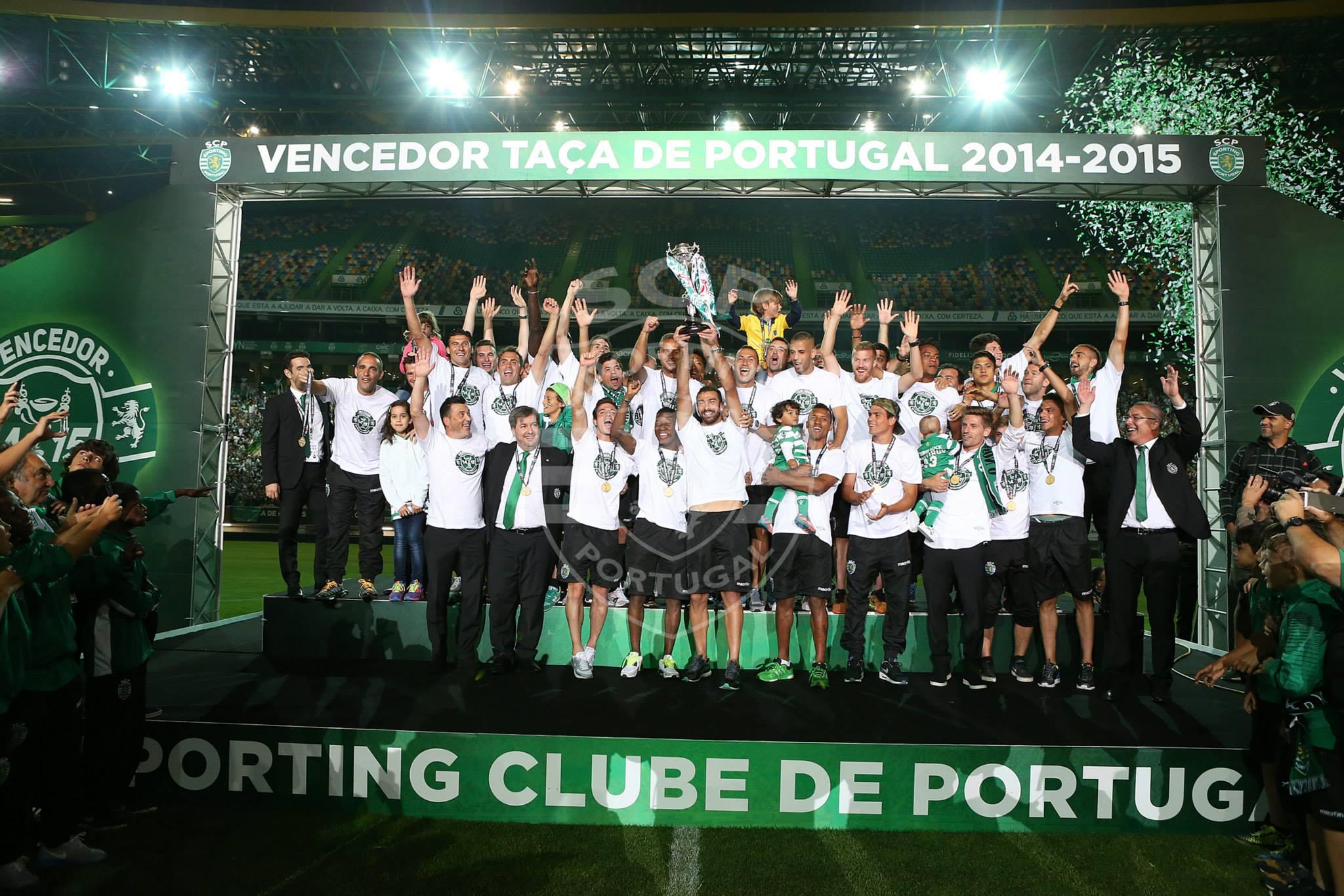 O estádio José de Alvalade estava a rebentar pelas costuras para receber a equipa após a conquista da Taça de Portugal Fonte: Facebook oficial do Sporting Clube de Portugal