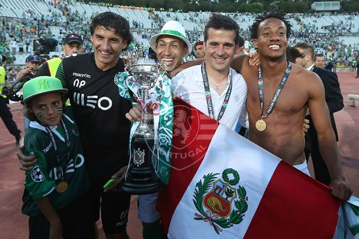 Obrigado, Marco! Fonte: Facebook Oficial do Sporting  Clube de Portugal