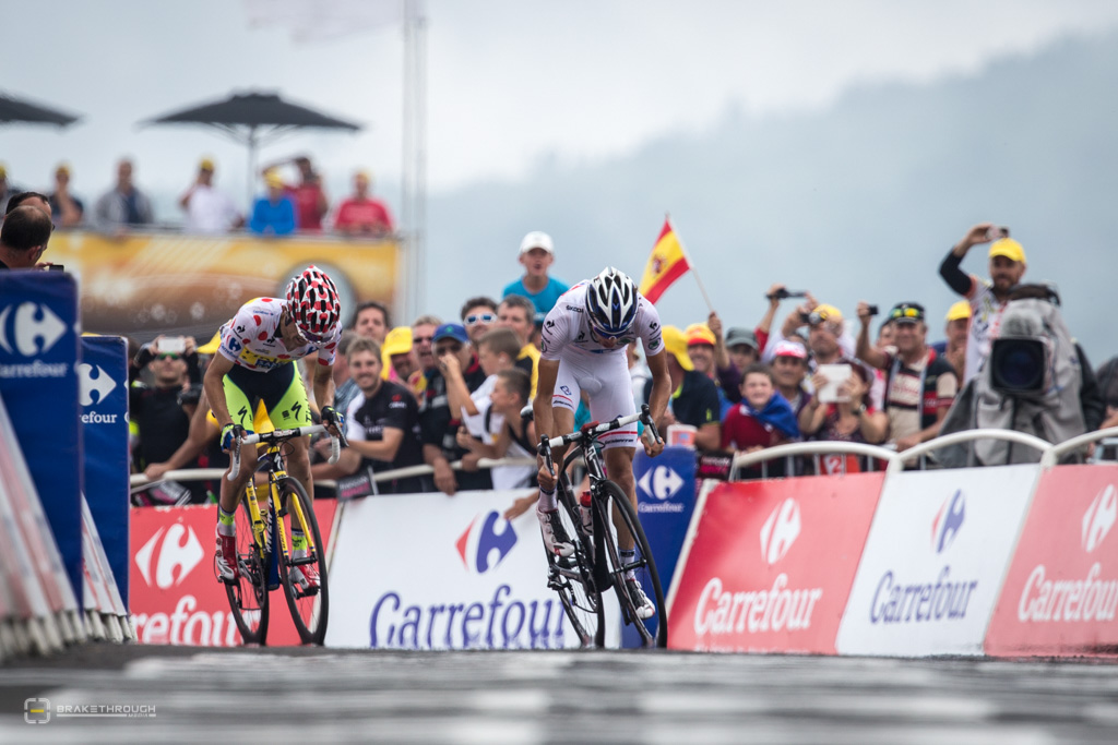 Majka e Pinot numa das etapas do Tour de France 2014