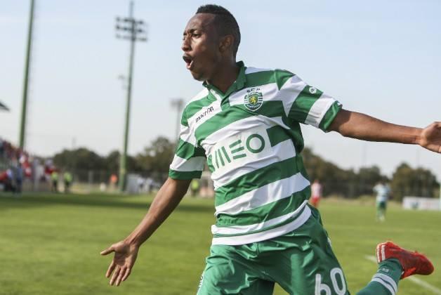 Gelson Martins é uma das promessas do Sporting Fonte: Sporting Clube de Portugal