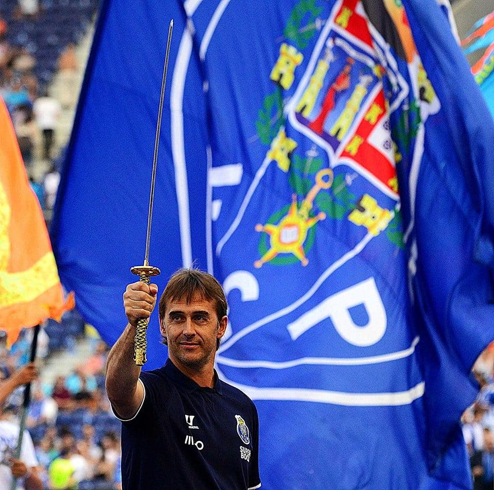 A mística do dragão, o poder dos guerreiros Fonte: Facebook do FC Porto