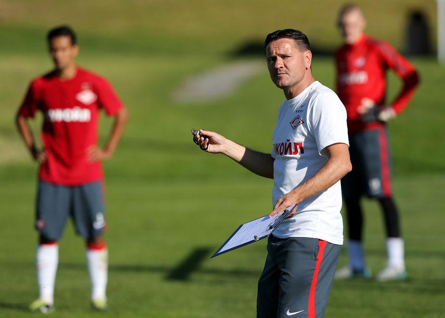 Conseguirá Alenichev devolver a glória ao Spartak? Fonte: Spartak World