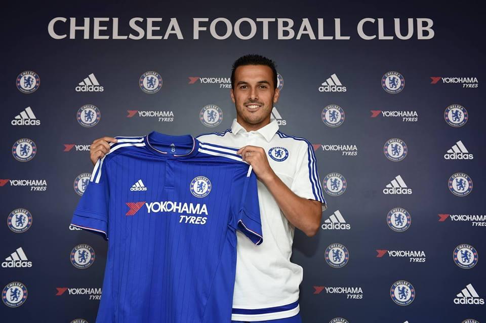 A primeira vitória da época do Chelsea foi... Pedro Rodríguez Fonte: Facebook do Chelsea FC