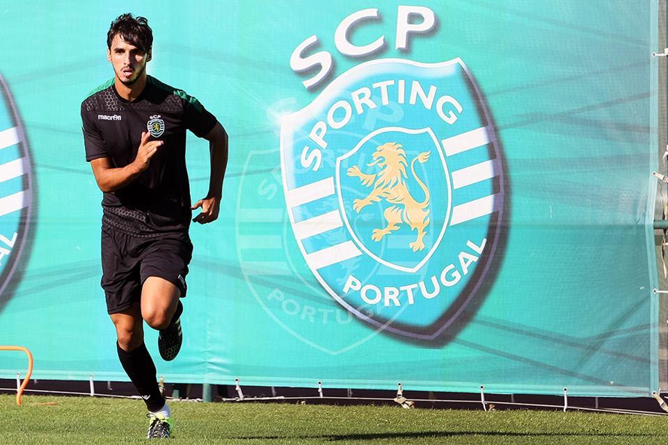 Bryan Ruiz deixou boas indicações Fonte: Facebook do Sporting