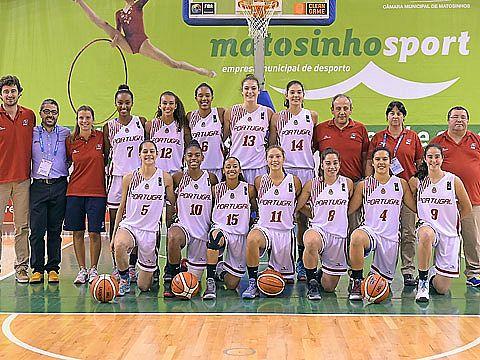 A equipa que defendeu as cores de Portugal