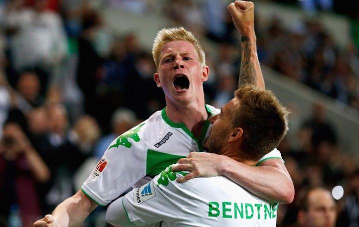 De Bruyne foi o melhor jogador do último campeonato Fonte: Facebook do Wolfsburgo
