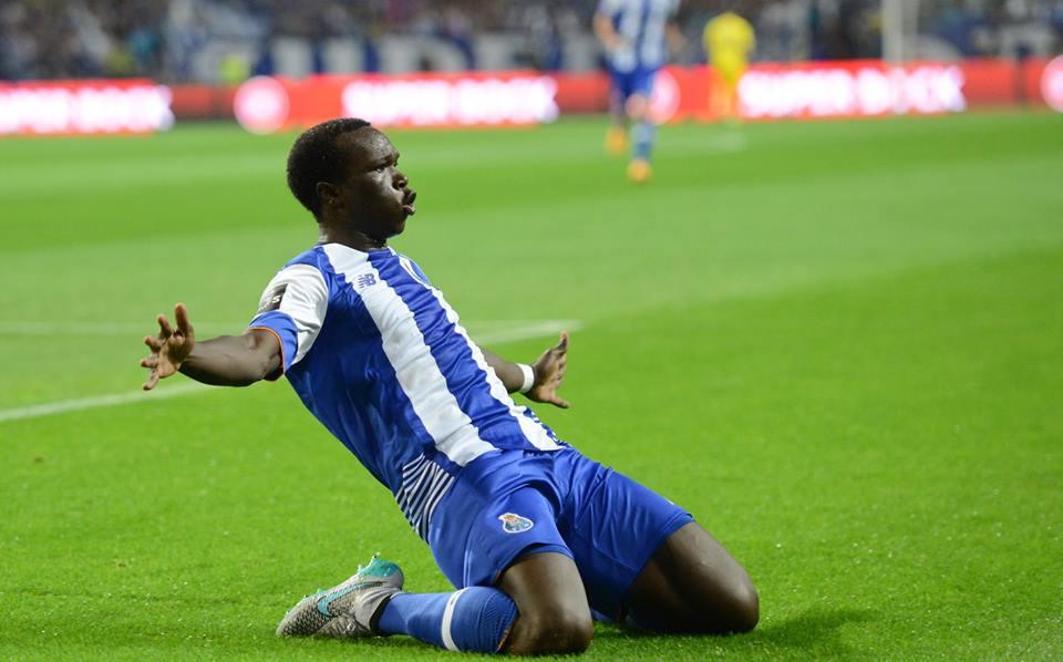 Aboubakar foi a figura da jornada Fonte: Facebook do FC Porto