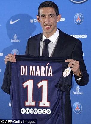 Di María é o reforço mais importante do PSG e da Liga Francesa