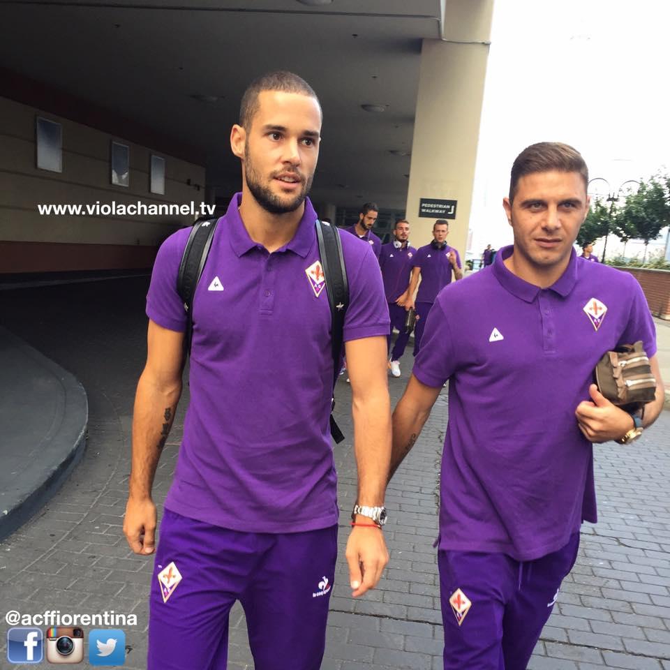 Mario Suárez juntou-se ao compatriota Joaquín nos quadros da Fiorentina de Paulo Sousa Fonte: Facebook da Fiorentina