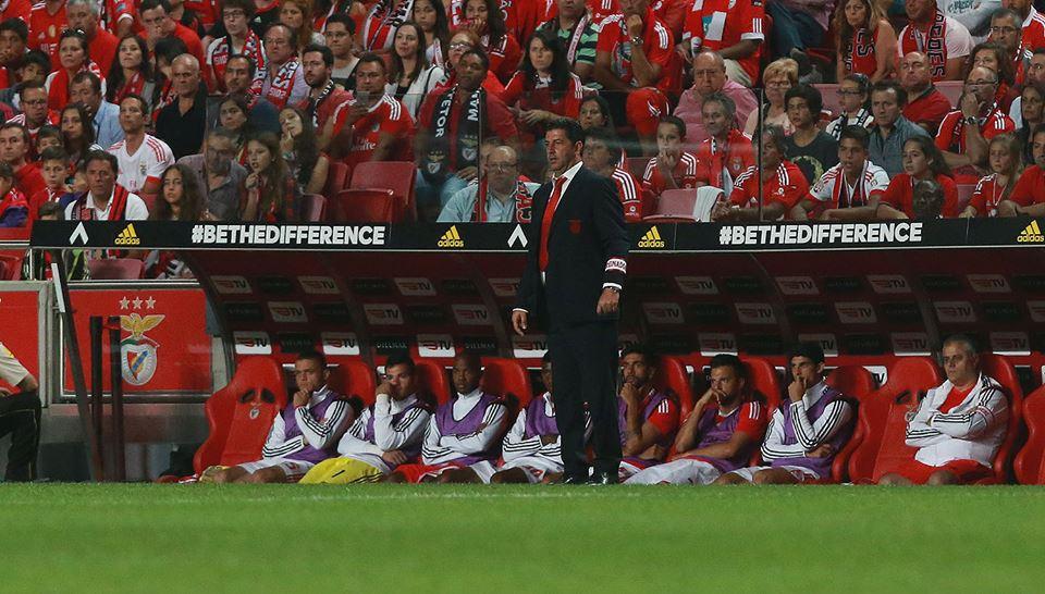 Rui Vitória merece treinar o Benfica Fonte: Sport Lisboa e Benfica