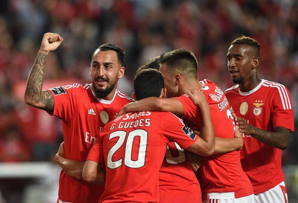 Mais de 42 mil pessoas presenciaram a noite da 'chapa 6' na Luz Fonte: Facebook do Sport Lisboa e Benfica