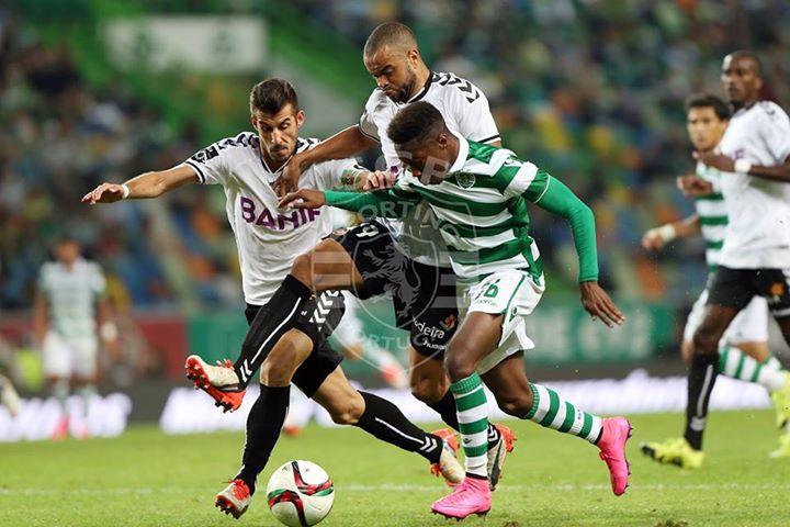A entrada de Mané veio dar outra cor à exibição leonina Fonte: Sporting CP