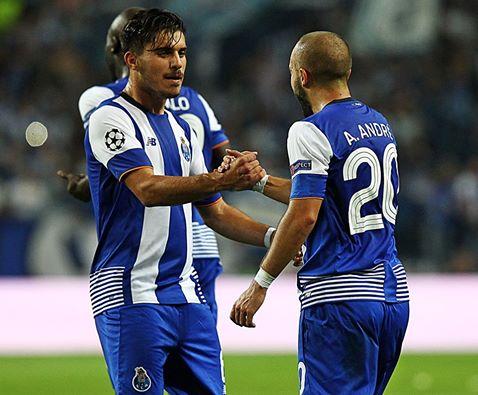 André André continua em destaque Fonte: Facebook do FC Porto