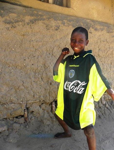Um criança moçambicana, de Nampula, em Junho de 2011 Fonte: Foto de Vítor Miguel Gonçalves