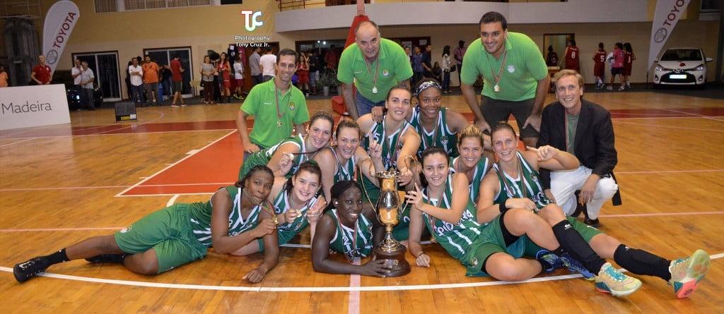 As açorianas venceram os três últimos troféus em disputa Foto: Facebook União Sportiva