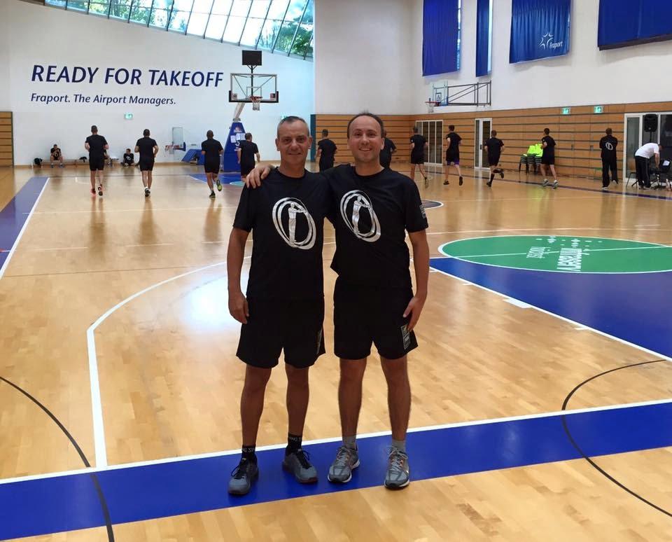 Fernando Rocha e Sérgio Silva estiveram presentes no último Eurobasket Fonte: FPB