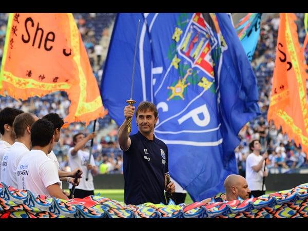O futuro a nós pertence Fonte: Facebook do FC Porto