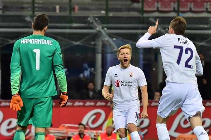Ilicic está em grande forma e ajudou à goleada Fonte: Facebook da Fiorentina