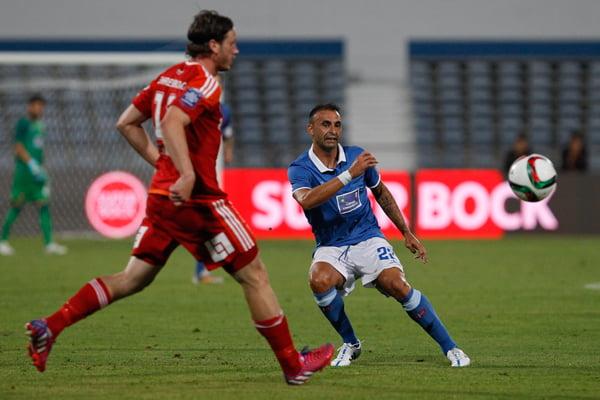 A entrada de Carlos Martins acabou por ser decisiva para a vitória do Belenenses Fonte: Lusogolo.pt