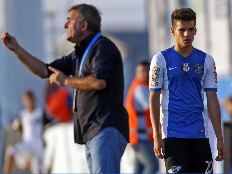 Gheorghe e Ianis - Duas gerações do clã Hagi no futebol romeno.