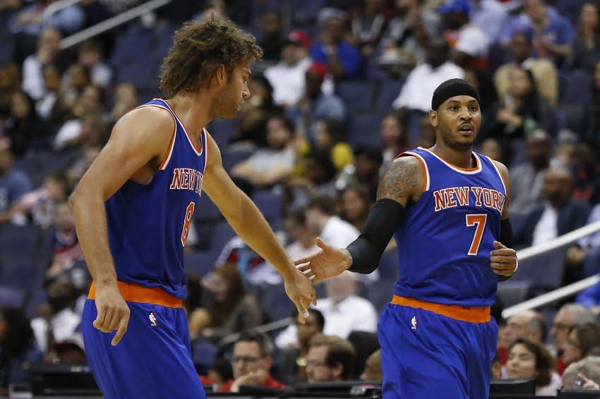 Carmelo Anthony vai ser uma das principais armas dos New York Knicks Fonte: @NBA