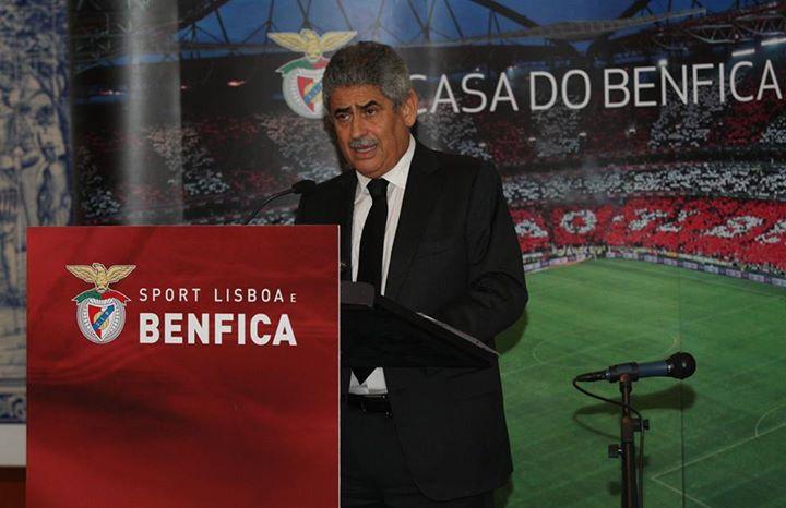 Luís Filipe Vieira legitimado para defender o nosso clube da forma correcta Fonte: Sport Lisboa e Benfica