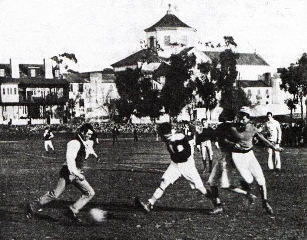 No Campo de Sete Rios 1913-17