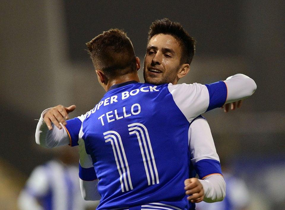 Bueno esteve em bom plano Fonte: FC Porto